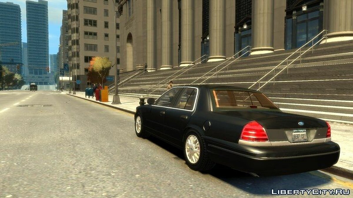 2003 Ford Crown Victoria для GTA 4 - скриншот #4