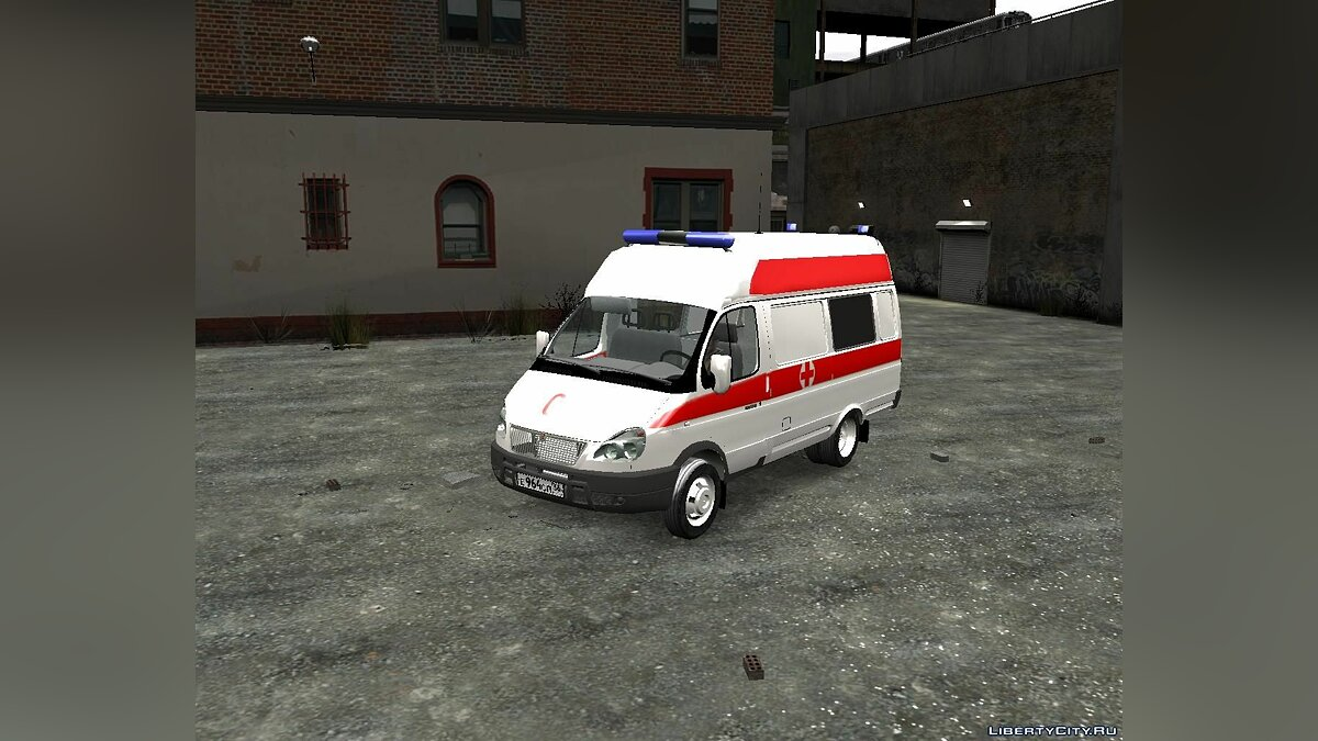 ��ашина ГАЗ GAZelle Ambulance для GTA 4