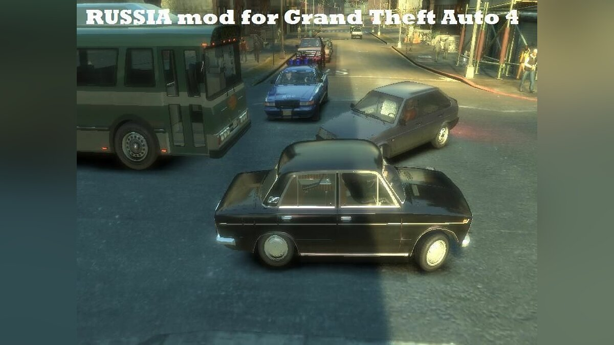 ��ольшой мод Russia mod for GTA 4 для GTA 4
