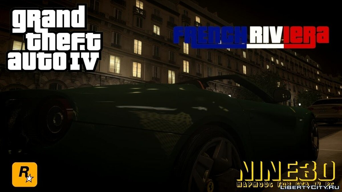 ��ольшой мод French Riviera для GTA 4