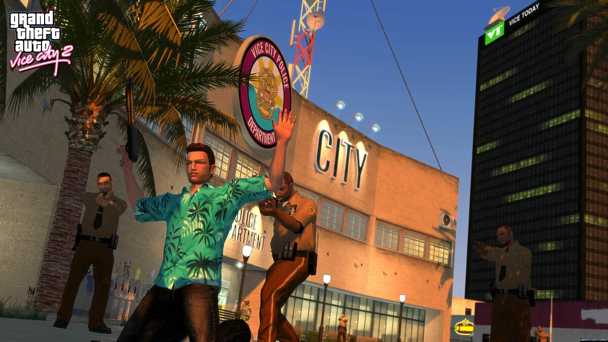 Большой мод Grand Theft Auto: Vice City 2 для GTA 4