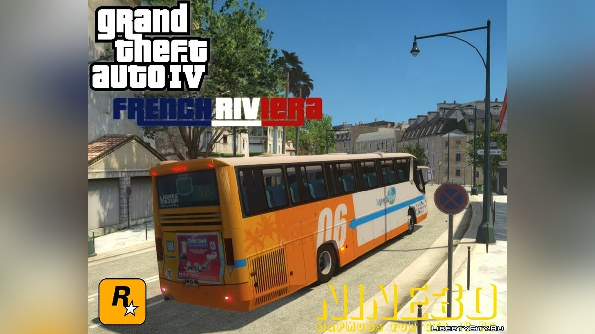 ��ольшой мод French Riviera Update 1.2 для GTA 4