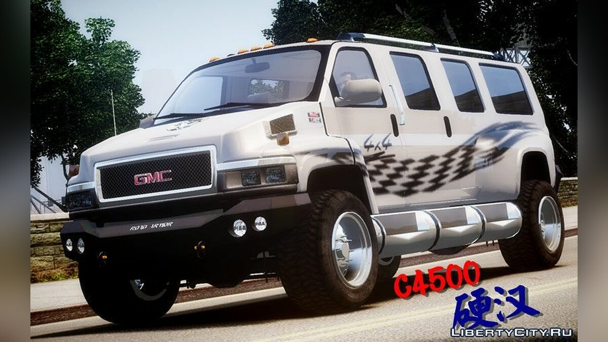 ��ашина GMC GMC Tough Guy для GTA 4