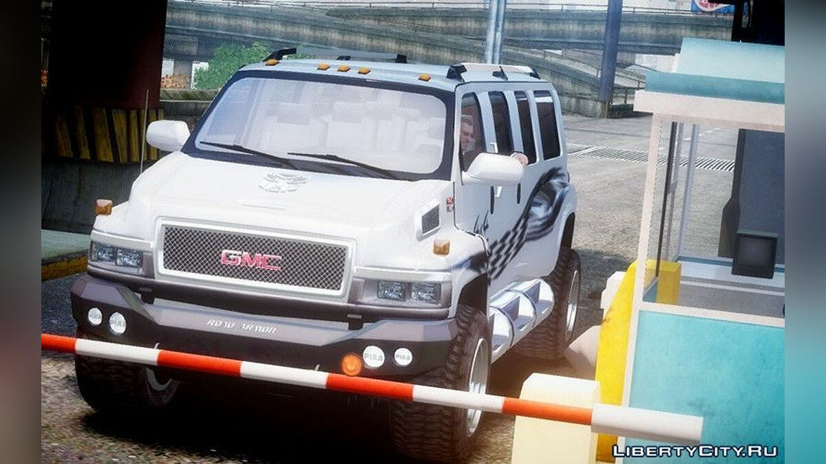 Машина GMC GMC Tough Guy для GTA 4