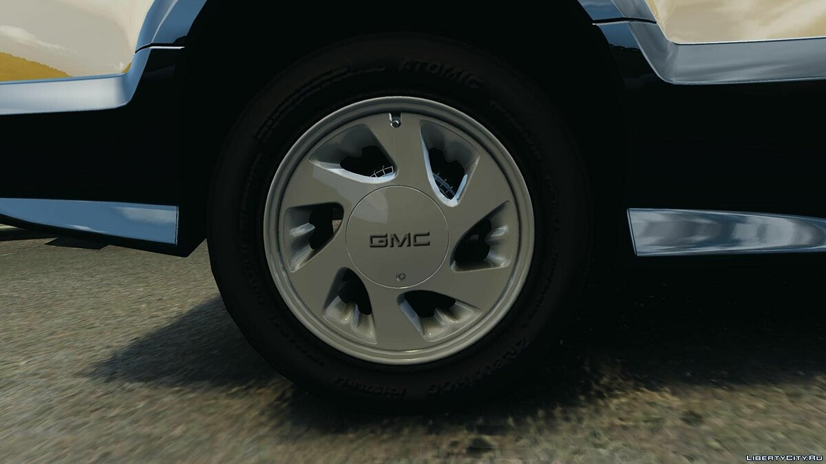 ��ашина GMC GMC Typhoon v1.1 для GTA 4