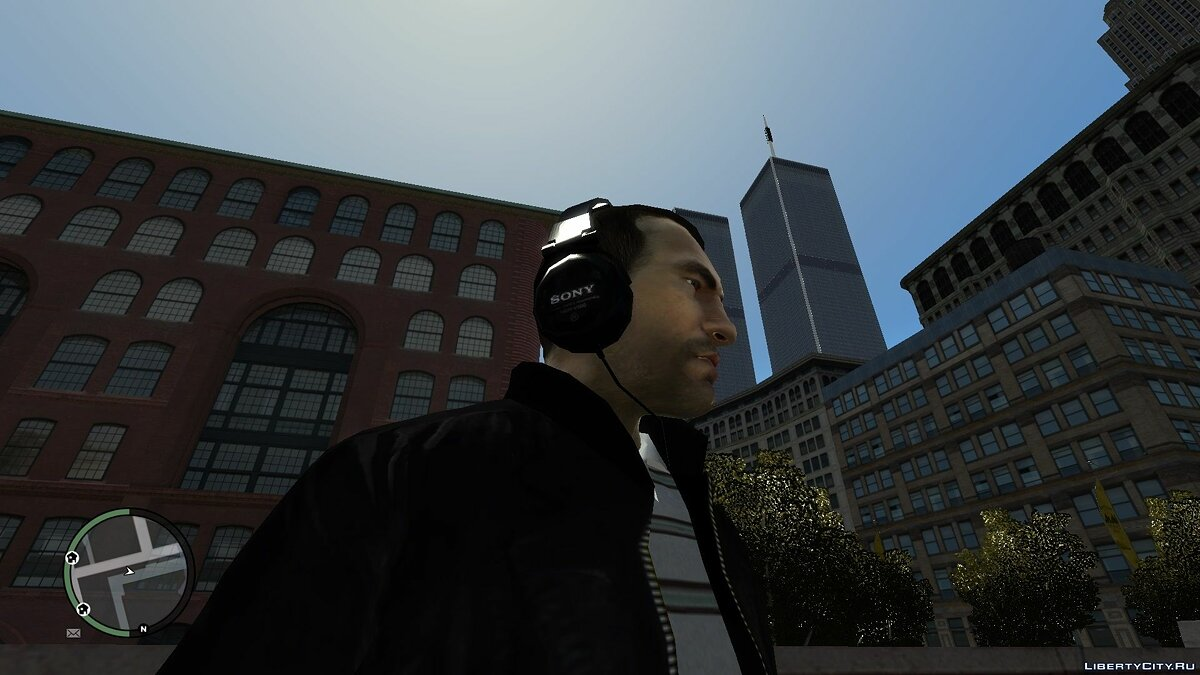 Шапка Real Headspeakers for Niko and Luis 1.0 для GTA 4
