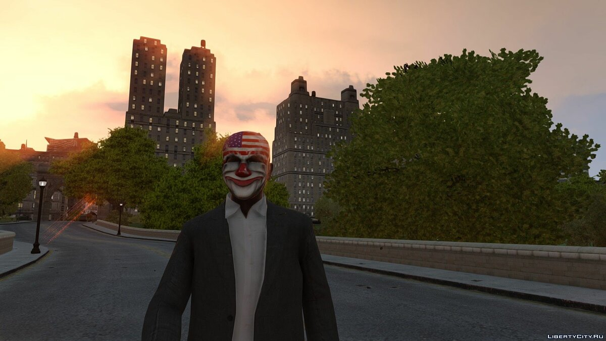 Шапка [PAYDAY] Dallas mask для GTA 4