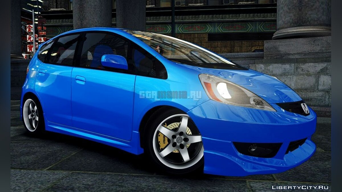 Машина Honda Honda FIT 2010 [Beta] для GTA 4