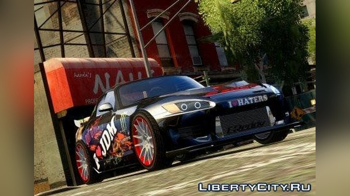 Honda S2000 2002' HD Tune для GTA 4