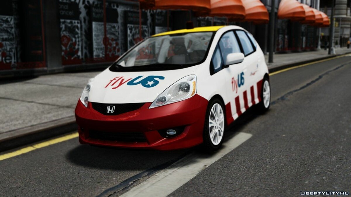 2009 Honda Fit FlyUS Edition для GTA 4