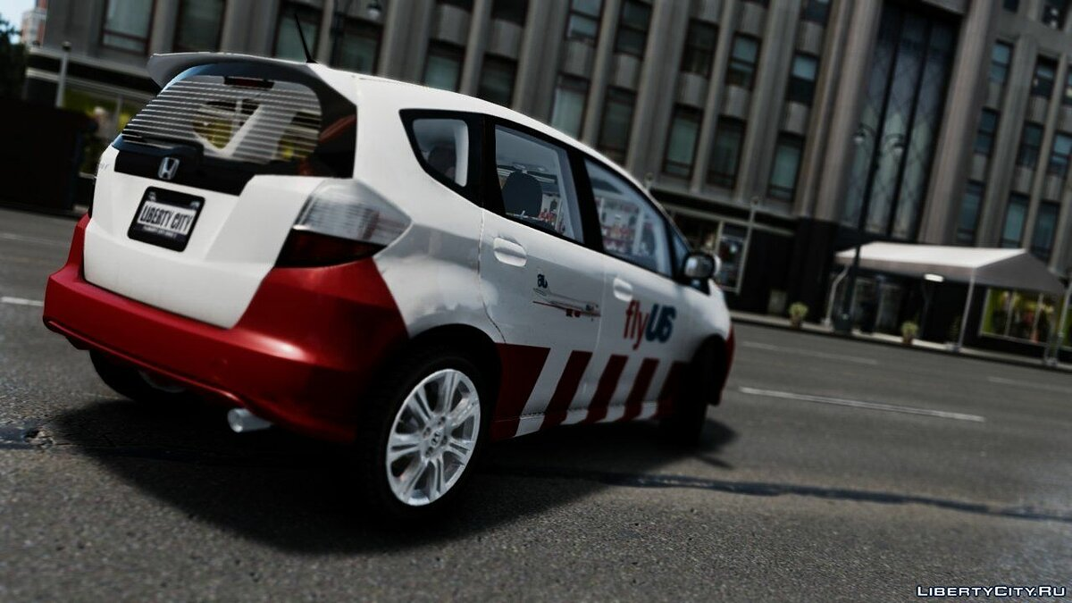 2009 Honda Fit FlyUS Edition для GTA 4 - скриншот #2