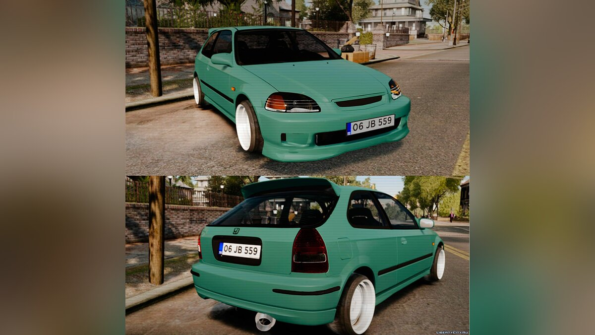 Honda Civic Al Sana для GTA 4 - Картинка #1