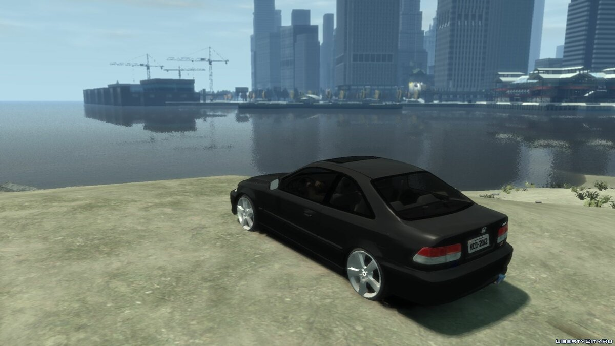 Машина Honda Honda Civic Coupe для GTA 4