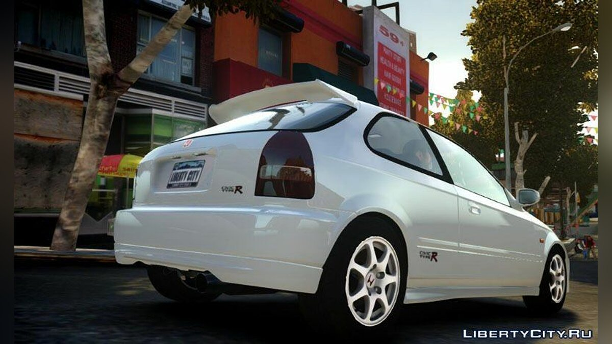 1997 Honda Civic Type R для GTA 4