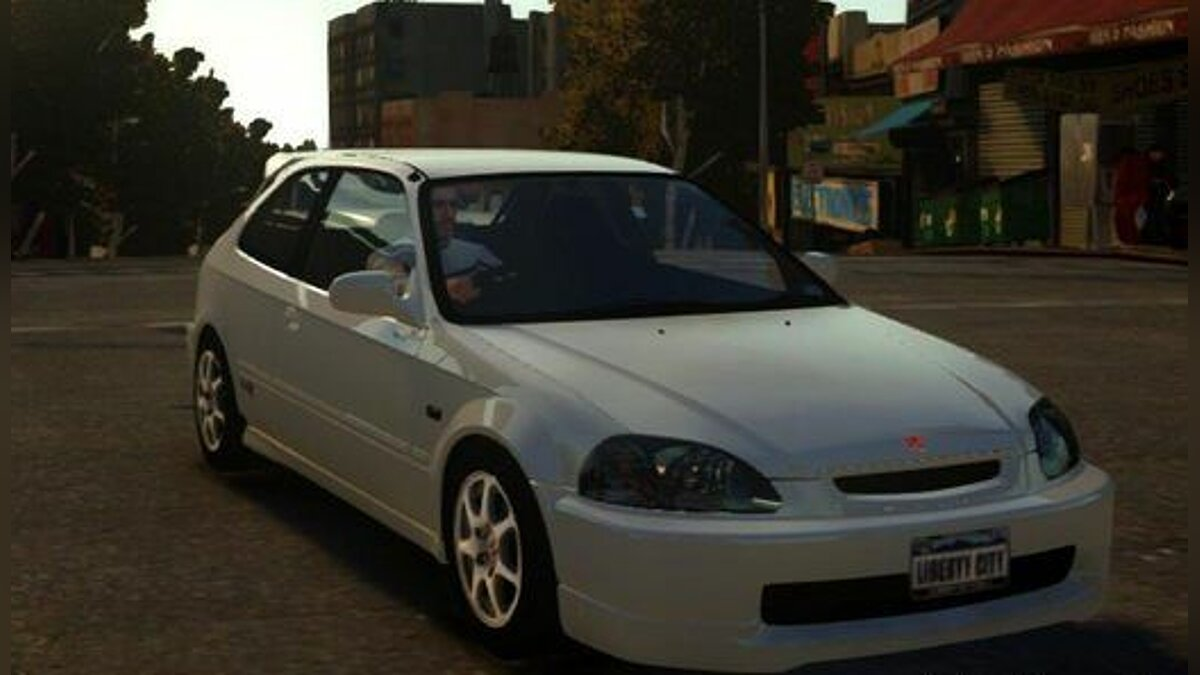 1997 Honda Civic Type R для GTA 4 - скриншот #3