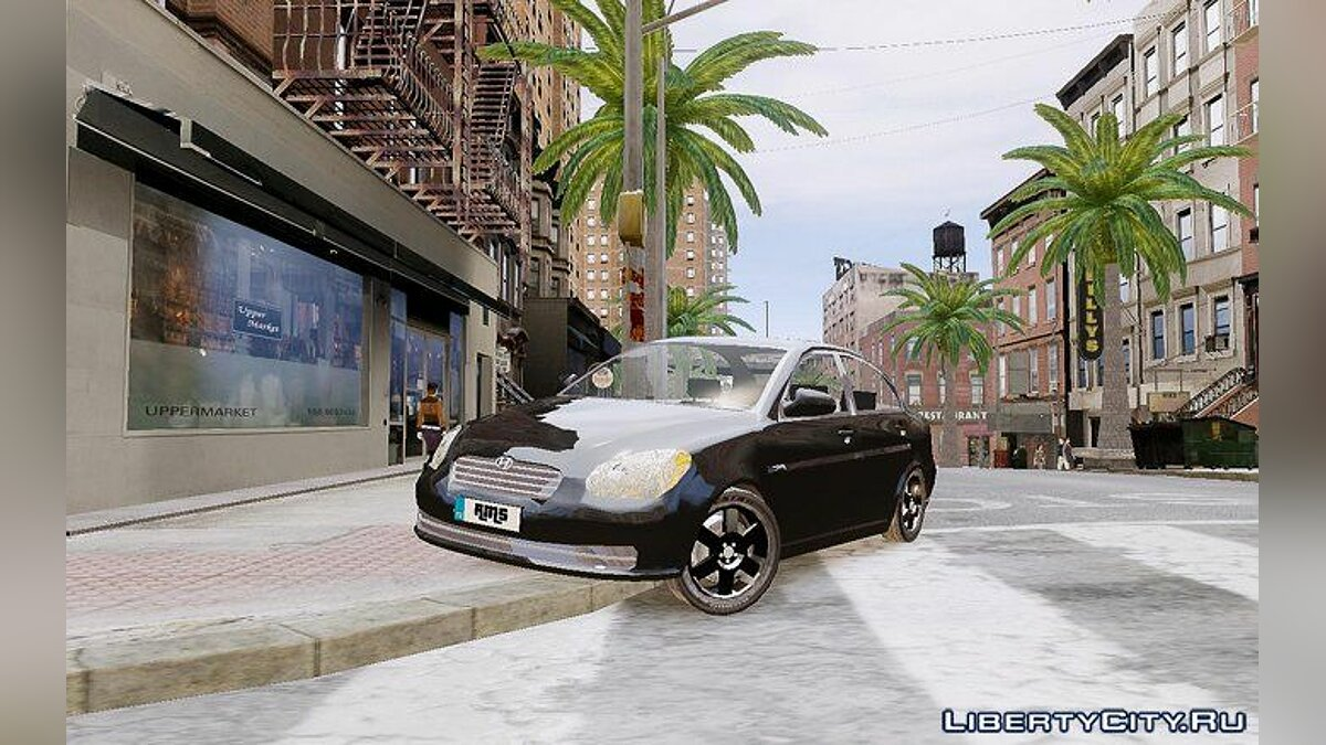 Hyundai Accent Era для GTA 4