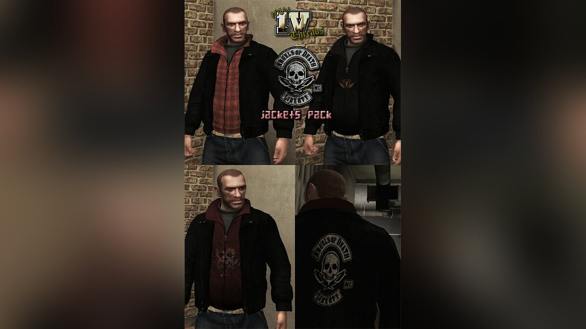 Angels Of Death Jacket Pack для GTA 4