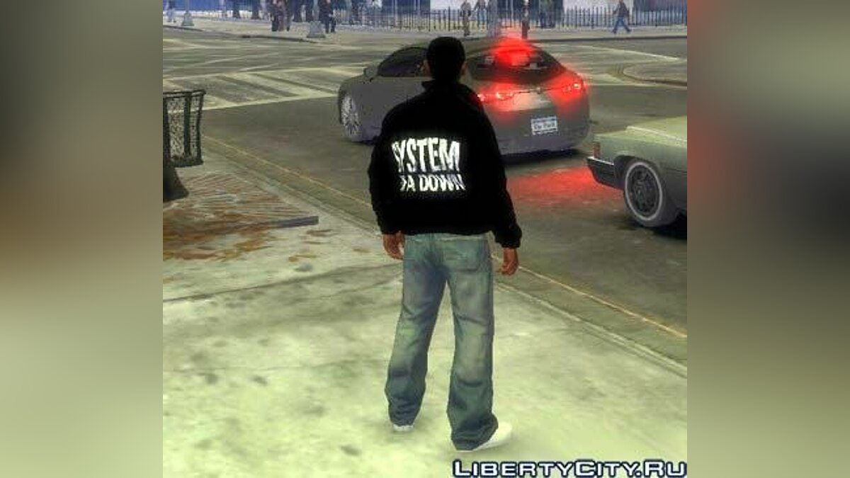 System of a Down Jacket для GTA 4
