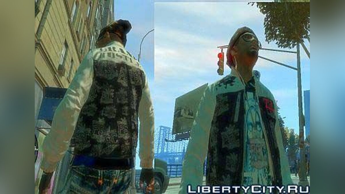The Imitation TI Jacket для GTA 4
