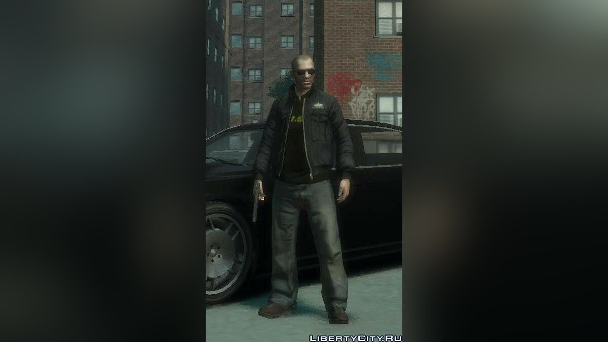 Alpha Industies Jacke для GTA 4