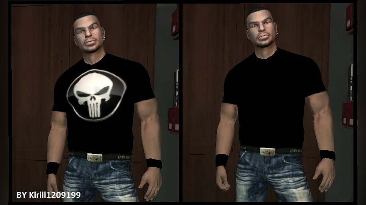 Tshirt for tbogt для GTA 4