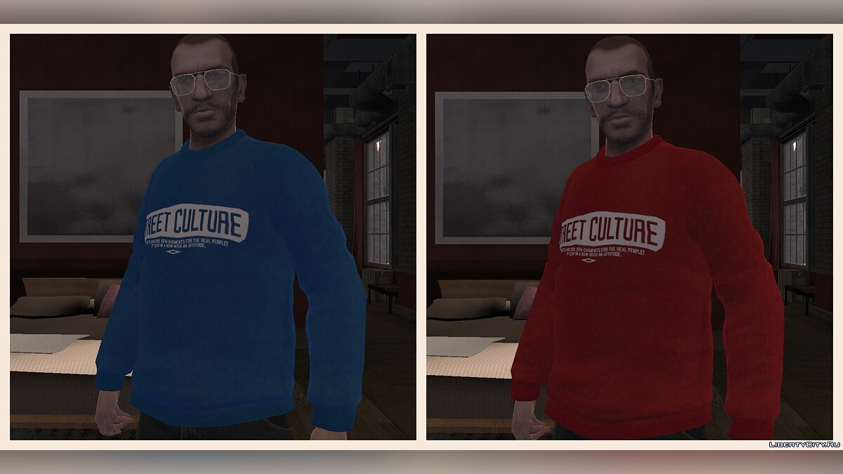Кофты Outfitters Nation для GTA 4