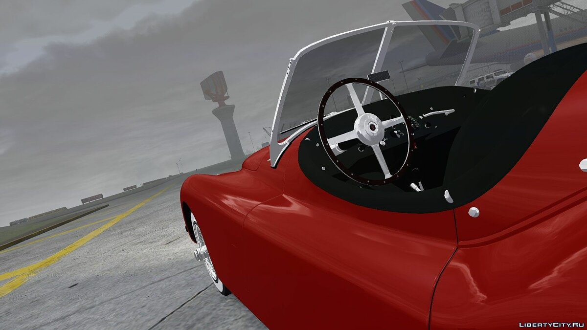 1954 Jaguar XK120 SE Roadster для GTA 4 - скриншот #3