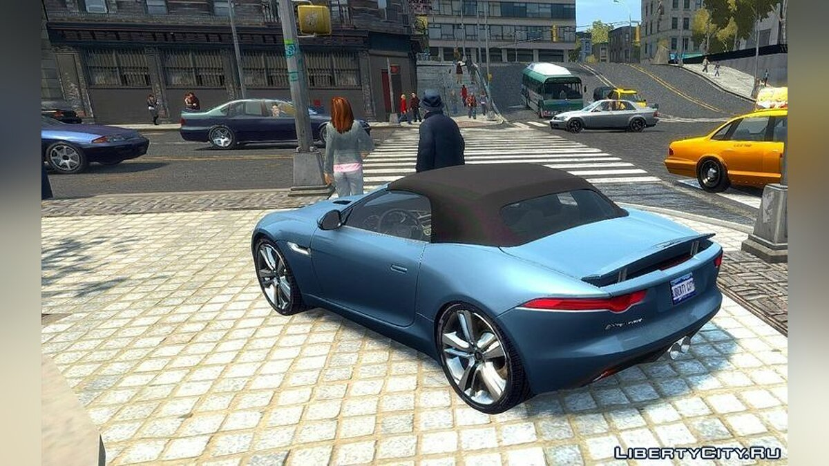 2014 Jaguar F-Type [EPM] для GTA 4 - скриншот #3