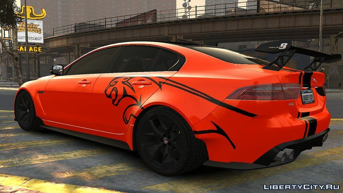 Машина Jaguar 2017 Jaguar XE SV Project 8 v1.0 для GTA 4