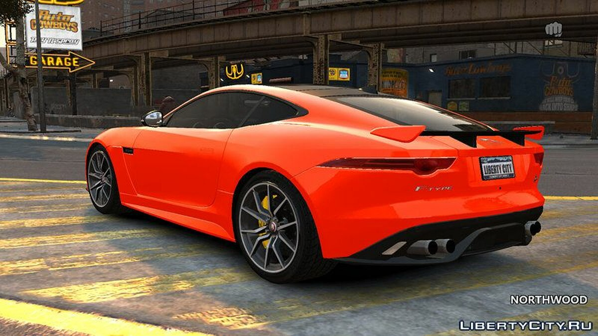 2016 Jaguar F-Type SVR v1.0 для GTA 4 - скриншот #2