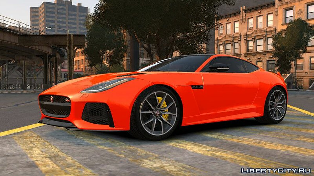 2016 Jaguar F-Type SVR v1.0 для GTA 4 - скриншот #4