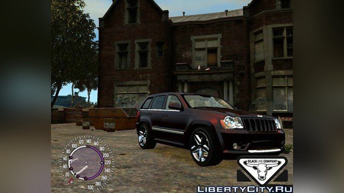 Jeep Grand Cherokee SRT8 v.1.1 для GTA 4