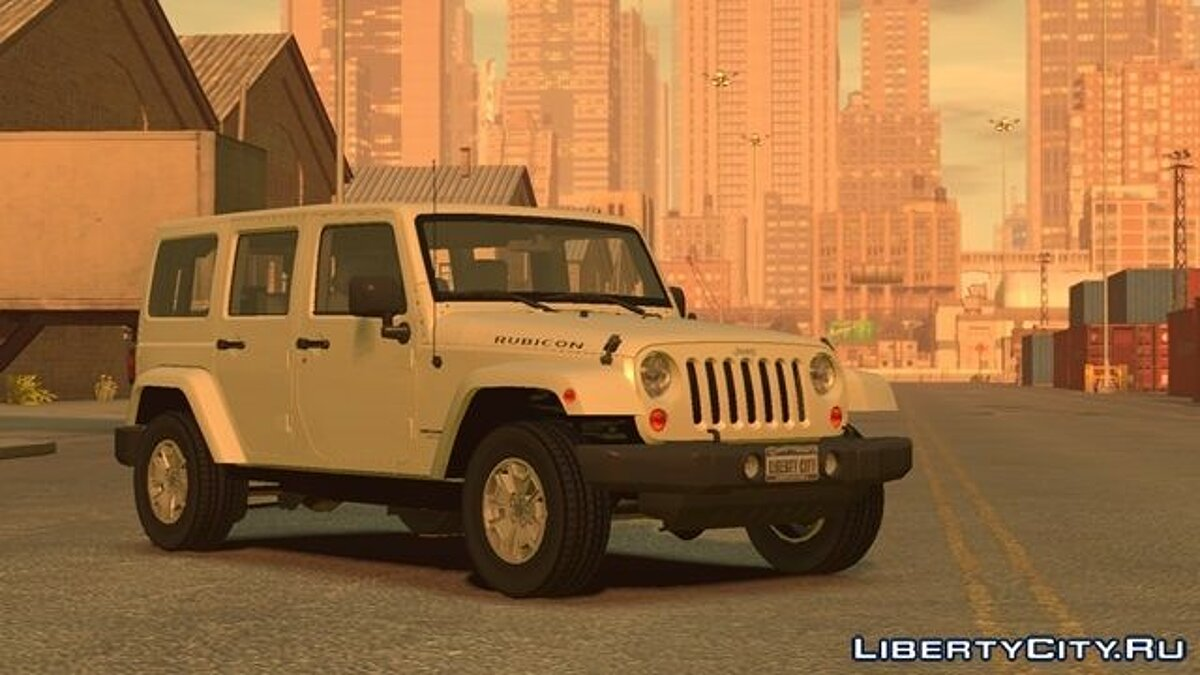 Jeep Wrangler Unlimited Rubicon 2013 для GTA 4 - Картинка #1