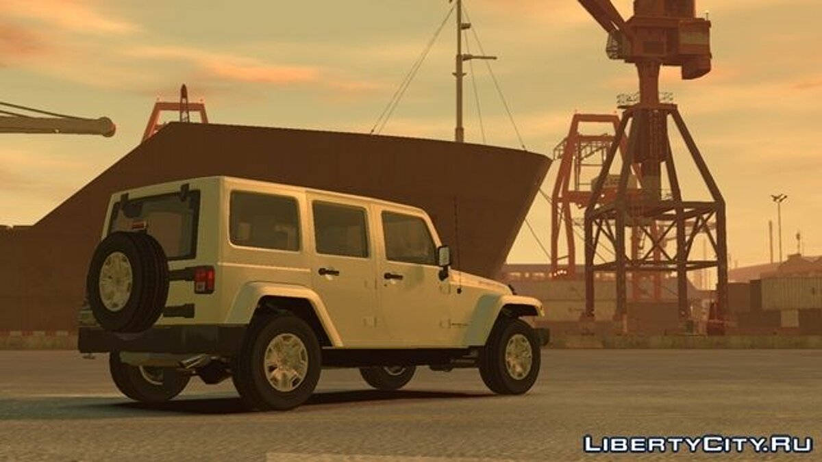 Jeep Wrangler Unlimited Rubicon 2013 для GTA 4 - Картинка #2
