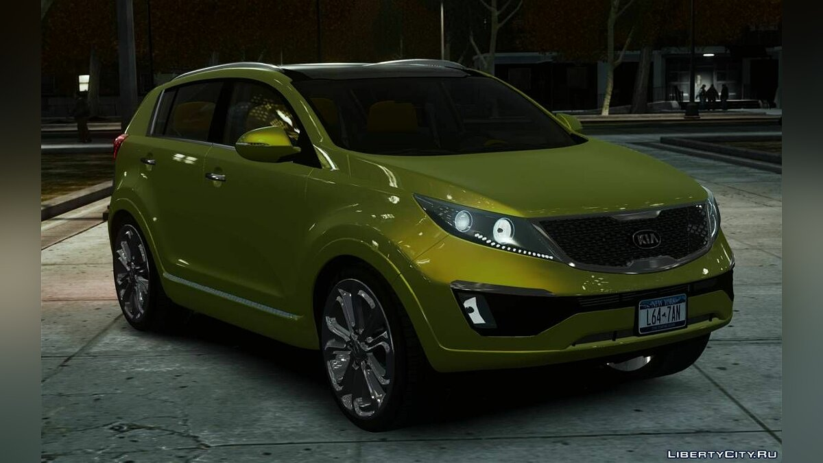 ��ашина Kia Kia Sportage 2010 Stock Final для GTA 4