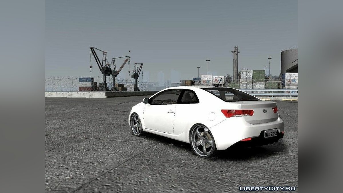 ��ашина Kia 2011 Kia Cerato Coupe vs 1.0 для GTA 4