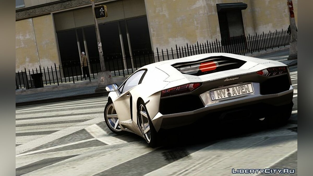 Lamborghini Aventador LP700-4 2012 Wheel Modified для GTA 4 - скриншот #4
