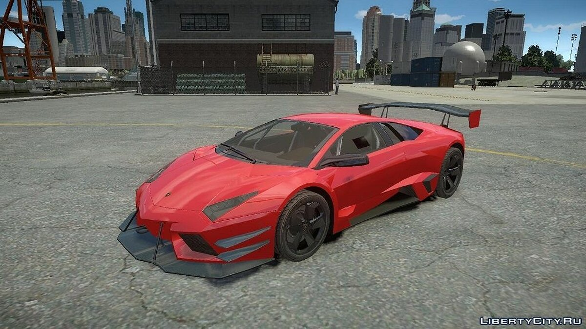 Lamborghini Reventon Body Kit Final для GTA 4