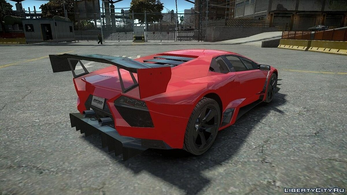 Lamborghini Reventon Body Kit Final для GTA 4 - скриншот #2