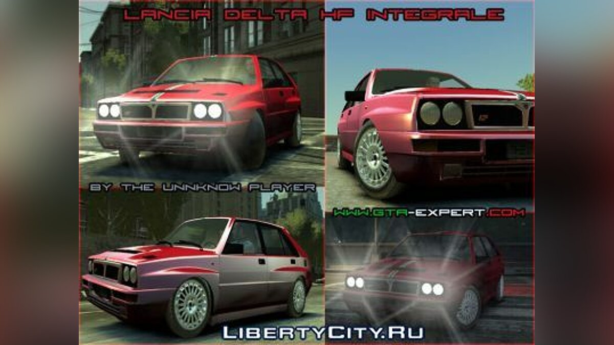 Машина Lancia Lancia Delta HF Integrale Dealer's Collection для GTA 4