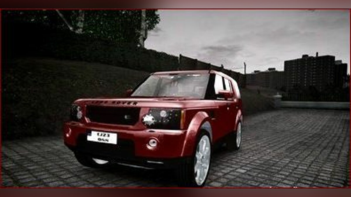 2011 Land Rover Discovery 4 для GTA 4