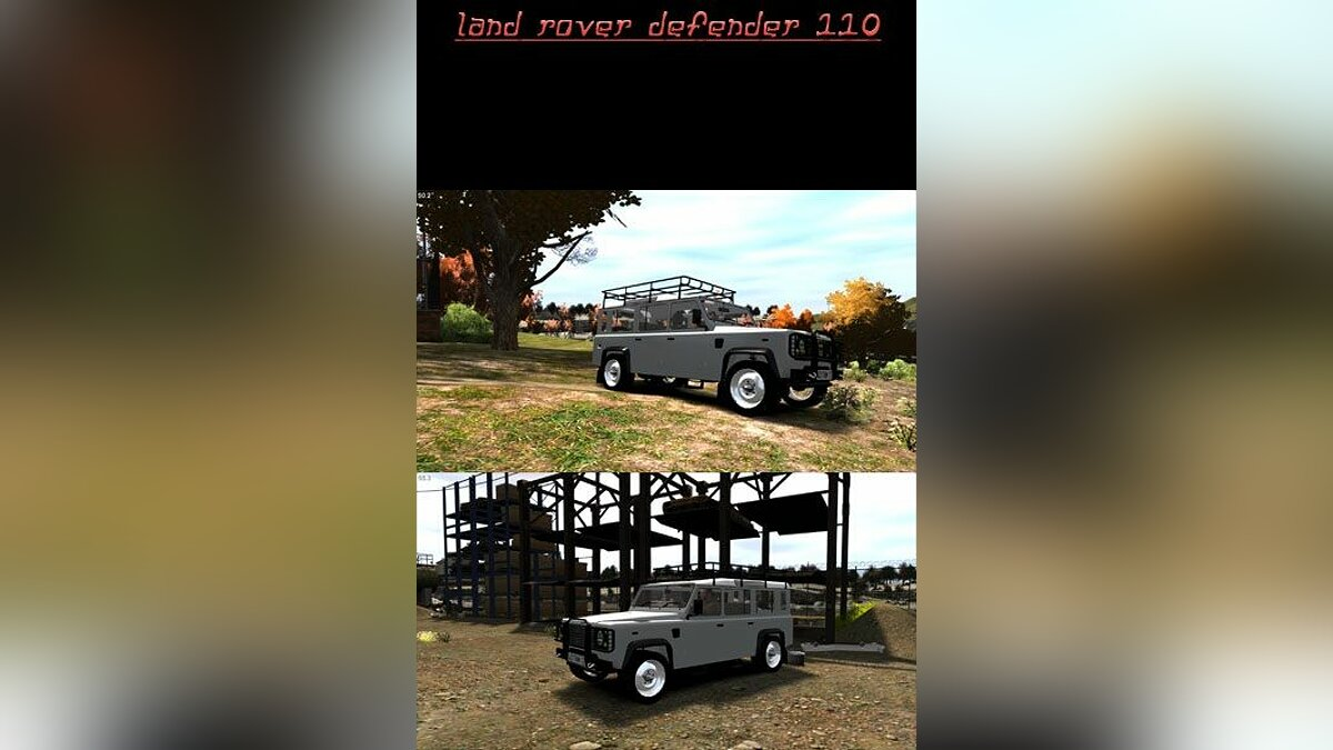 Land Rover Defender 110 для GTA 4
