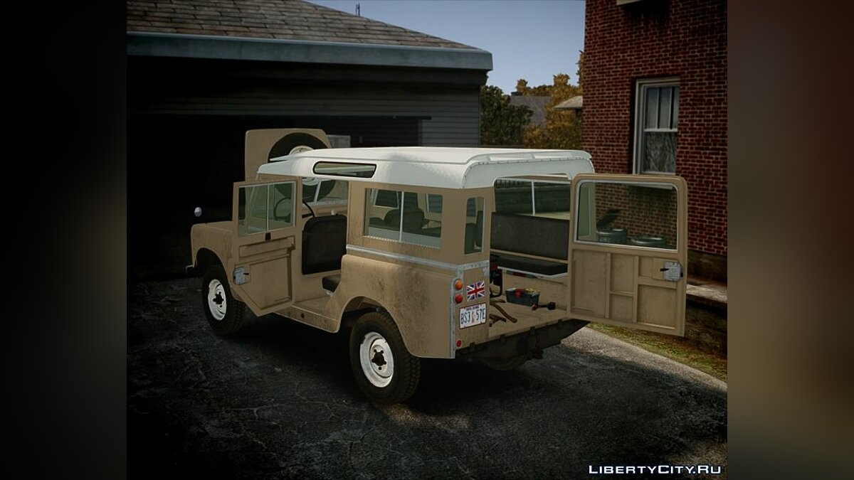 Машина Land Rover 1960 Land Rover Series II 2.0 FIXED для GTA 4