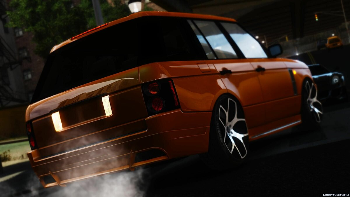 Машина Land Rover 2008 - Range Rover Supercharger для GTA 4