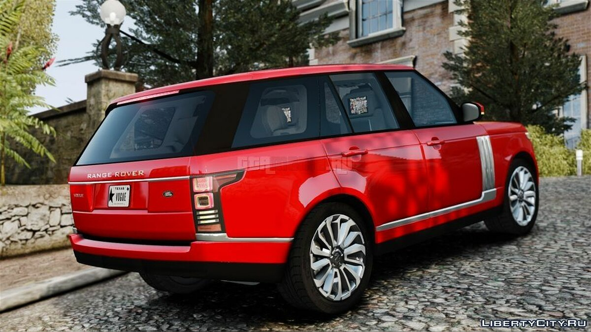 Машина Land Rover Range Rover Vogue 2014 для GTA 4