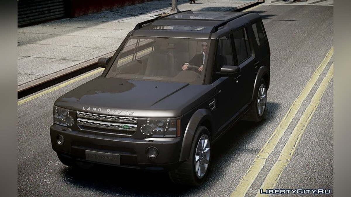 Машина Land Rover Land Rover Discovery 4 2013 для GTA 4