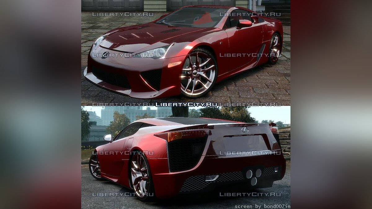 Lexus LF-A '2010 [EPM] v.2.1 Additional Version для GTA 4 - Картинка #1