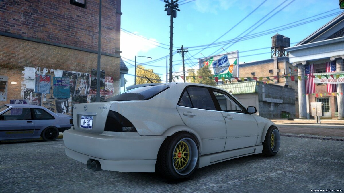 Машина Lexus Lexus IS300 для GTA 4