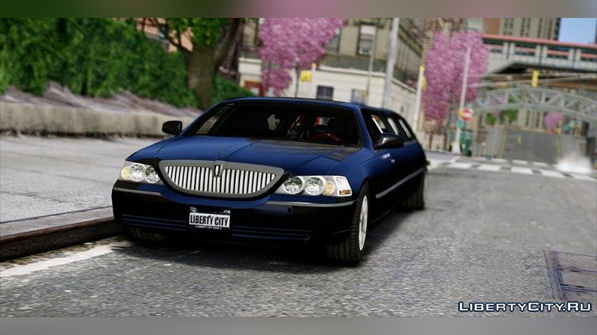 2010 Lincoln Town Car Limousine для GTA 4 - скриншот #3