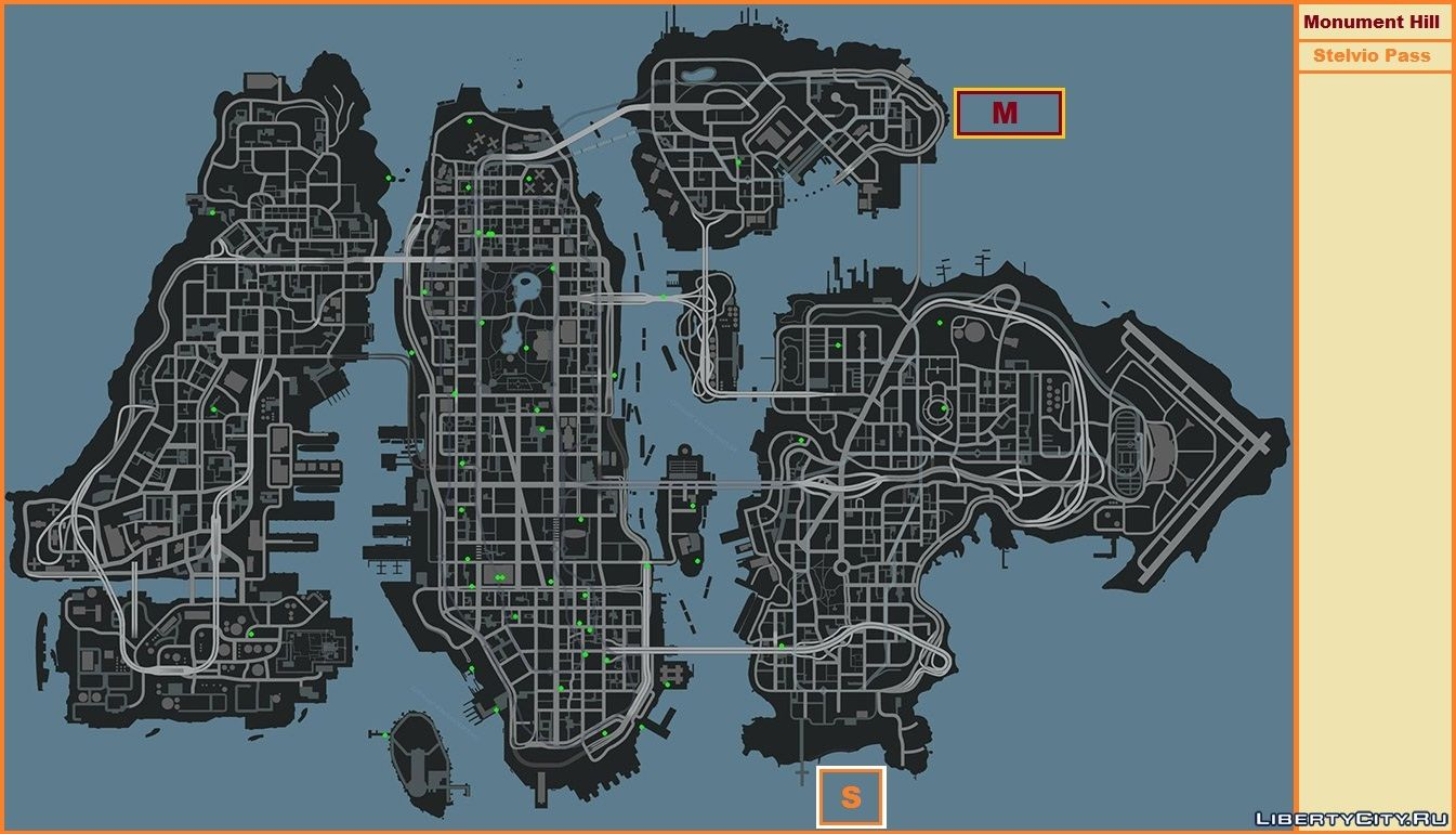 Gta-modding. Com download area » gta iv » mods » cg4 radar mod.